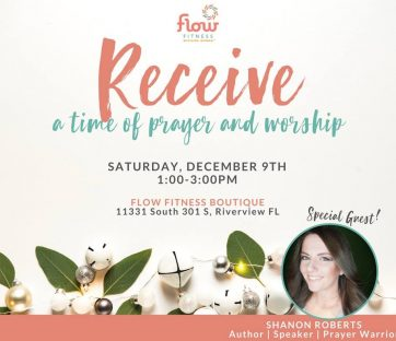 Recieve - A Time Of Prayer and Worship